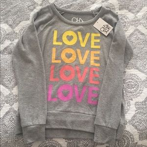 Chaser Love Sweater 🧡❤️💜💛